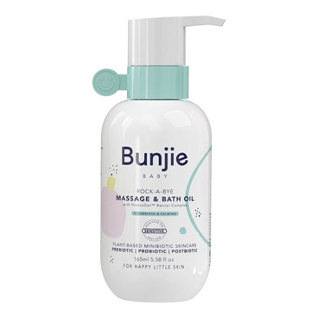 Bunjie Rock-A-Bye Baby Massage & Bath Oil 165ml