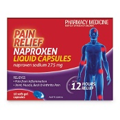 Pain Relief Naproxen 10 Liquid Capsules by Deep Heat