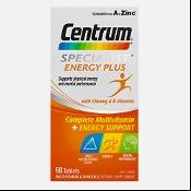 Centrum Specialist Energy Plus 60 Tablets