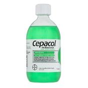 Cepacol Antibacterial Mint Mouthwash 500ml