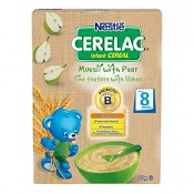 Cerelac Cereal Muesli Pear 8 Months+ 200g