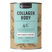 Nutra Organics Collagen Body Bone Strength & Structure Powder Unflavoured 450g