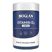 Bioglan Vitamin D 1000iu 250 Capsules
