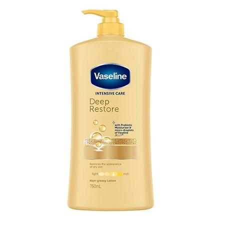 Vaseline Intensive Care Deep Restore Body Lotion 750ml