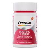 Centrum Beautiful & Bright 50 Tablets