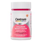 Centrum Collagen Boost & Glow 50 Tablets