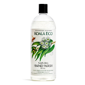 Koala Eco Natural Hand Wash Lemon Scented Eucalyptus & Rosemary 1 Litre