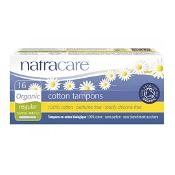 Natracare Tampons Applicator Regular 16 Pack