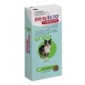 Bravecto 1 Month for Medium Dogs Green 10kg-20kg 1 Chewable Tablet