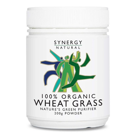 Synergy Natural Organic Wheat Grass 200g