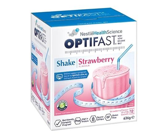 Optifast VLCD Shake Strawberry 12 Serves