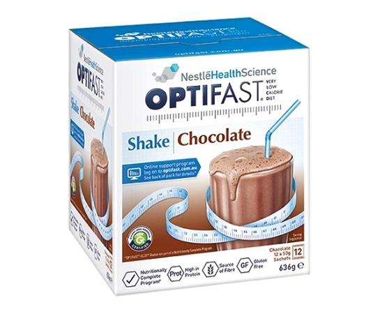 Optifast VLCD Shake Chocolate 12 Serves