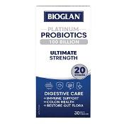 Bioglan Platinum Probiotics 100 Billion Ultimate Strength 30 Capsules