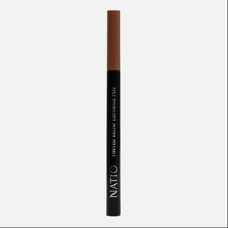 Natio Tinted Brow Defining Pen Medium Brown 0.6ml