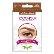 1000 Hour Eyelash & Brow Plant Based Dye Kit Light Brown/Blonde