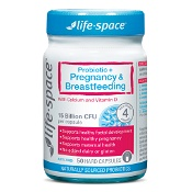 Life-Space Probiotic + Pregnancy & Breastfeeding 50 Capsules