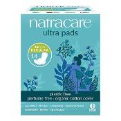 Natracare Ultra Pads Regular Wings 14 Pack
