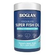 Bioglan Odourless Super Fish Oil 2000mg 200 Capsules