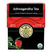 Buddha Teas Organic Herbal Tea Bags Ashwagandha Tea 18 Pack