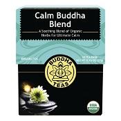 Buddha Teas Organic Herbal Tea Bags Calm Buddha Blend 18 Pack