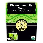 Buddha Teas Organic Herbal Tea Bags Divine Immunity Blend 18 Pack