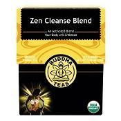 Buddha Teas Organic Herbal Tea Bags Zen Cleanse Blend 18 Pack