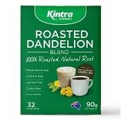 Kintra Foods Roasted Dandelion Blend 32 Tea Bags