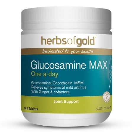 Herbs of Gold Glucosamine MAX 180 Tablets