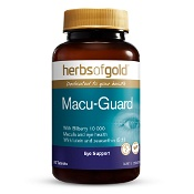 Herbs of Gold Macu-Guard with Bilberry 10 000 60 Tablets
