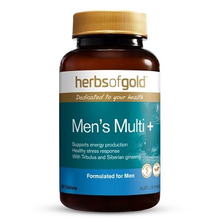 Herbs of Gold Men's Multi + 60 Tablets