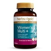 Herbs of Gold Womens Multi + Vitamin D3 1000IU 60 Tablets
