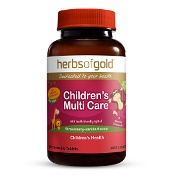 Herbs of Gold Childrens Multi Care 60 Chewable Tablets