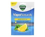 Vicks VapoNaturals Lemon Menthol 19 Pack (Expiry: November 2021, no refunds or exchanges)