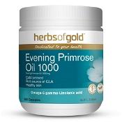 Herbs of Gold Evening Primrose Oil 1000 200 Capsules