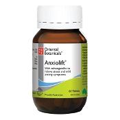 Oriental Botanicals Anxiolift 60 Tablets (New Formula)