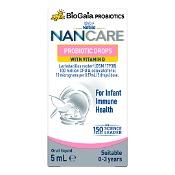 NAN CARE BioGaia Probiotic Drops with Vitamin D for Infant Immune Health 5ml