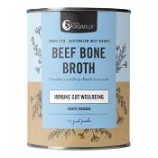 Nutra Organics Beef Bone Broth Powder Hearty Original 125g