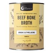 Nutra Organics Beef Bone Broth Powder Turmeric 125g
