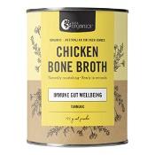 Nutra Organics Chicken Bone Broth Powder Turmeric 125g
