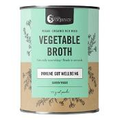 Nutra Organics Vegetable Broth Powder Garden Veggie 125g