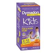 Dymadon 2-12 Years Orange Colour Free 200ml