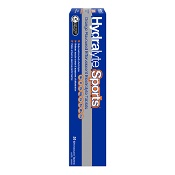 Hydralyte Sports Effervescent Electrolyte Tablets Orange 20 Pack