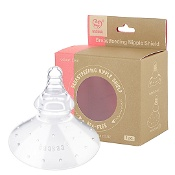 Haakaa Breastfeeding Nipple Shield Round 1 Pack