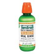 TheraBreath Fresh Breath Oral Rinse Mild Mint 473ml
