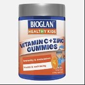 Bioglan Kids Vitamin C + Zinc 70 Gummies