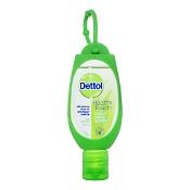 Dettol Instant Hand Sanitiser Refresh with Clip 50ml