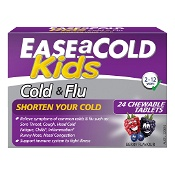 Ease a Cold Kids Cold & Flu Relief 24 Tablets