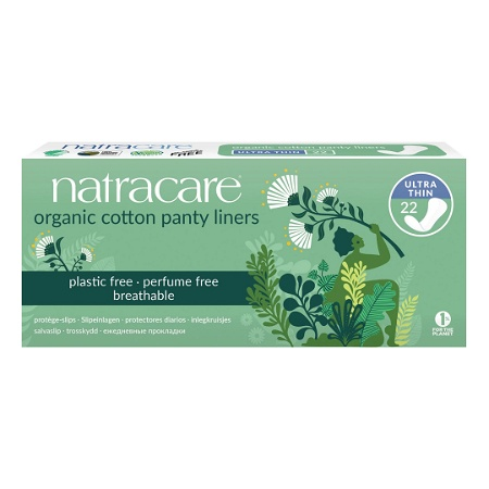 Natracare Panty Liners Ultra Thin 22 Pack