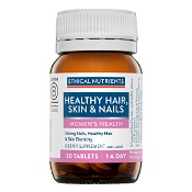 Ethical Nutrients WOMENS HEALTH Healthy Hair, Skin & Nails 30 Tablets