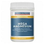 Ethical Nutrients MEGAZORB Mega Magnesium 120 Tablets (Exp: December 2021, no refunds or exchanges)